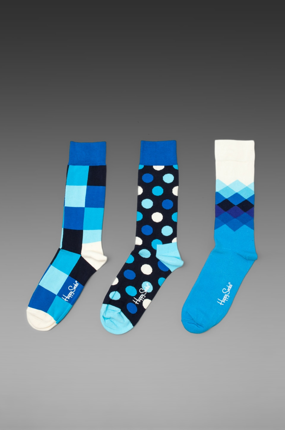 Happy Socks Hanukkah in Square/Faded Diamond/Big Dot