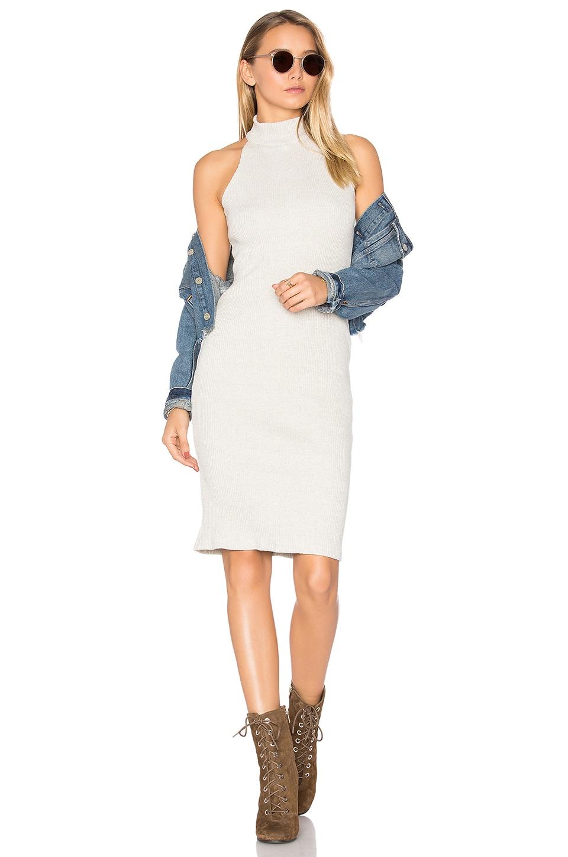 Turtleneck Halter Dress by MONROW