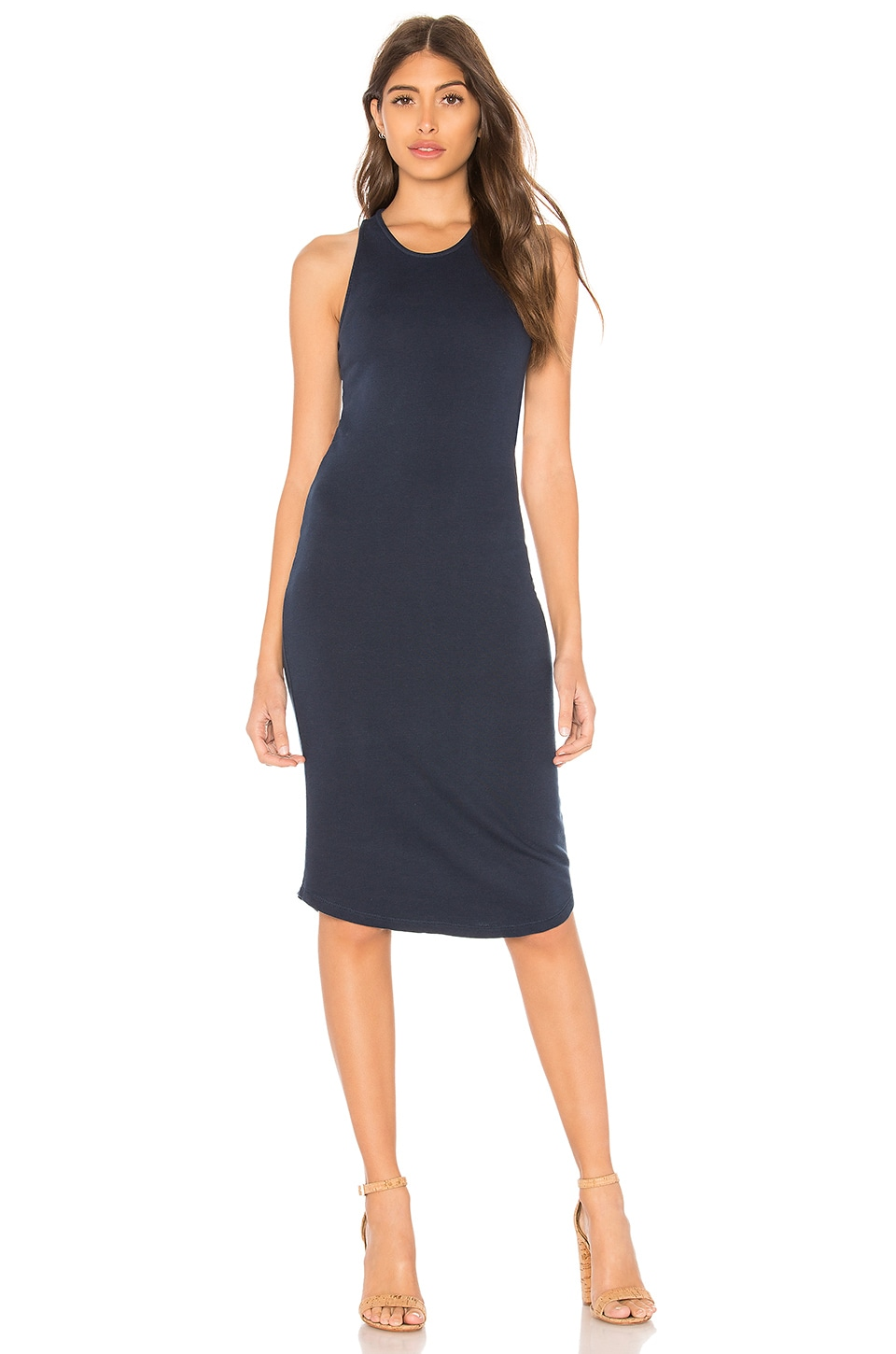 French Terry Tank Dress by MONROW