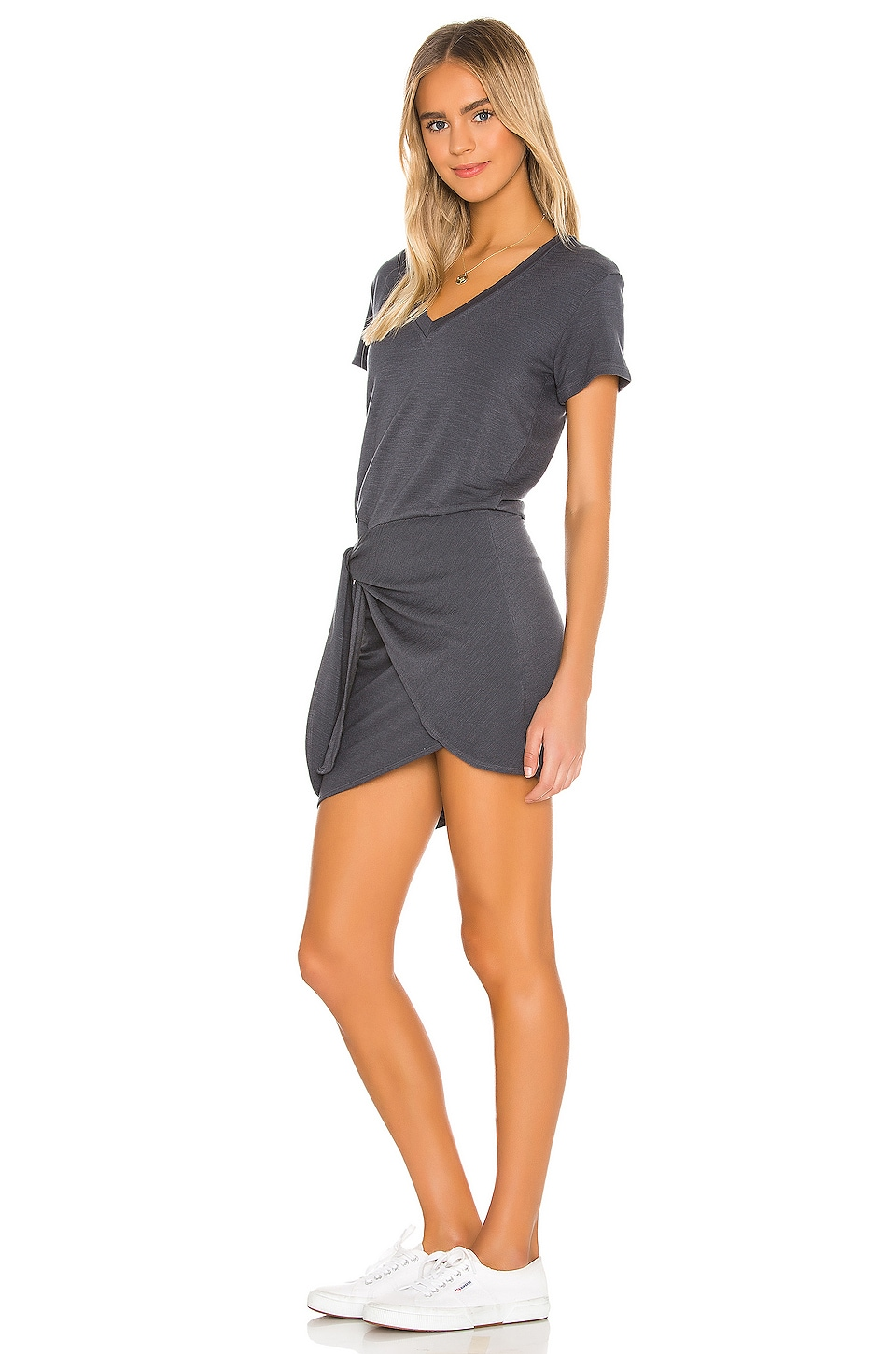 Supersoft V Dress, view 3, click to view large image.