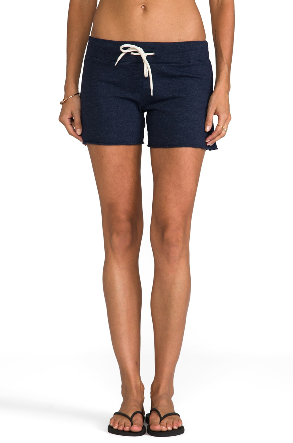 MONROW Vintage Shorts in Navy