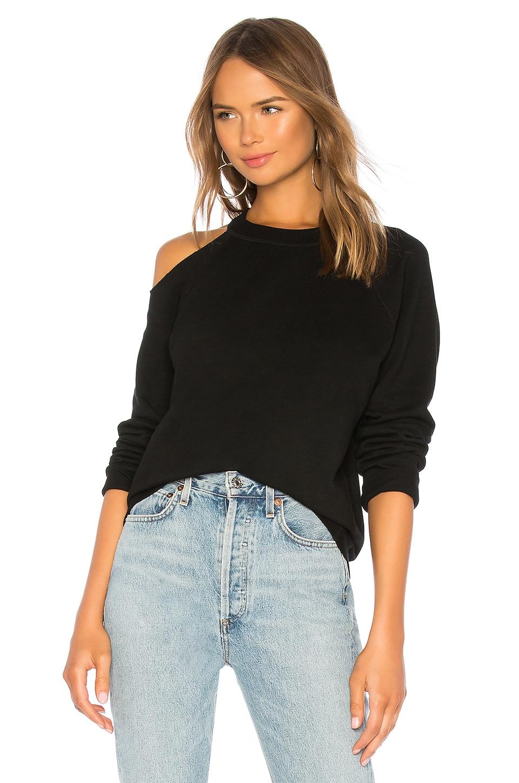 Cold Shoulder Vintage Pullover