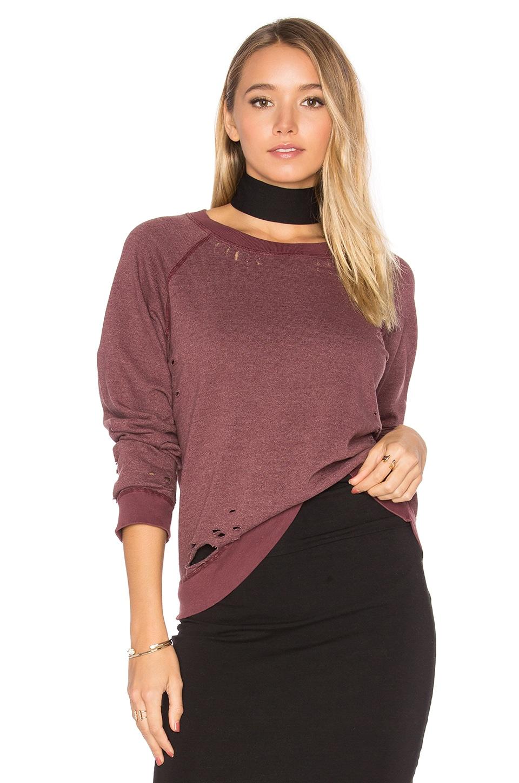 Vintage Distressed Sweatshirt by MONROW