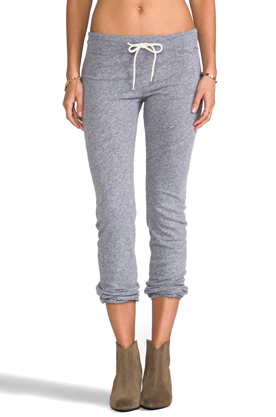 MONROW Granite Vintage Sweats in Granite