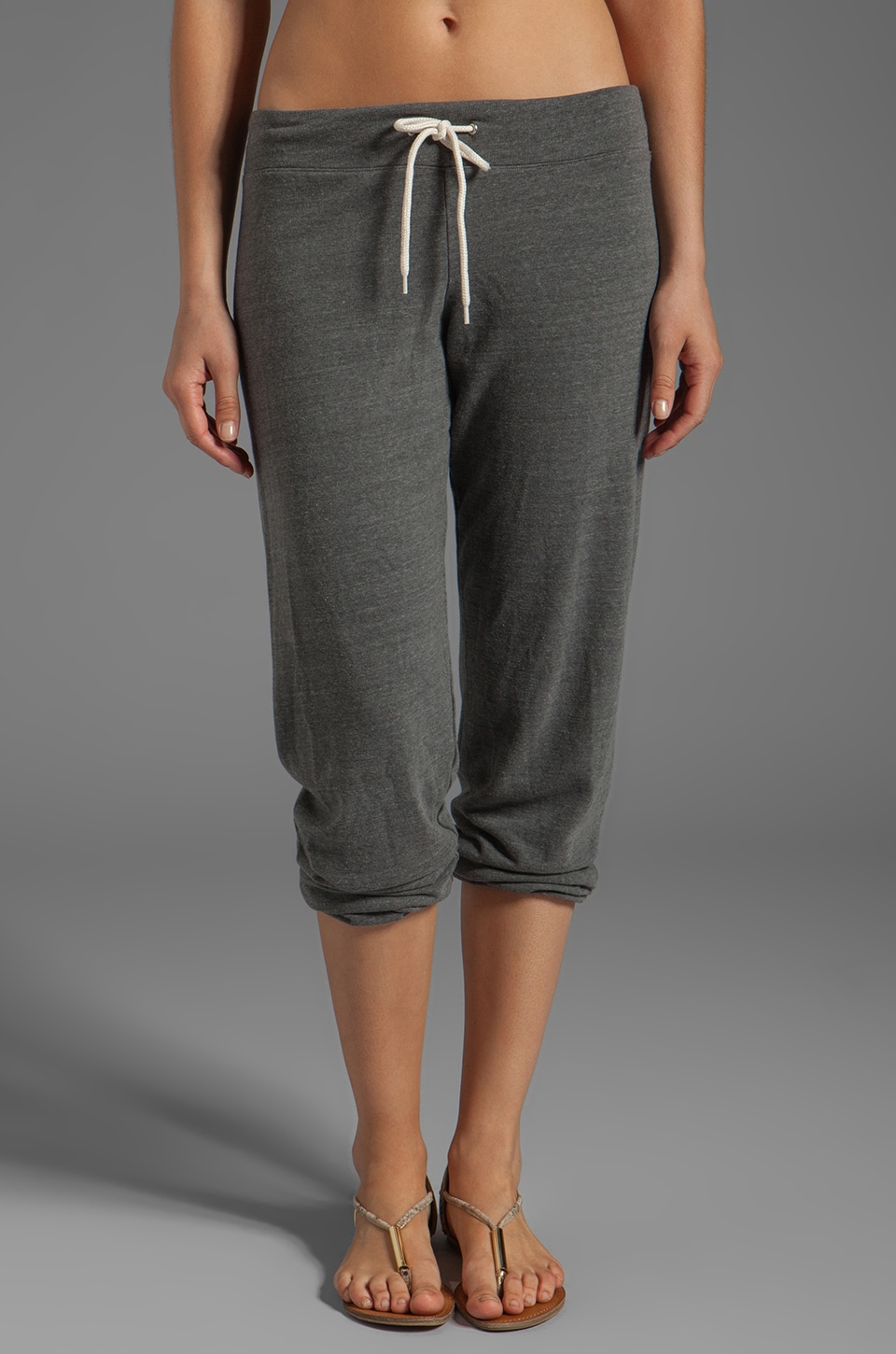 MONROW Vintage Fleece Sweats in Elephant