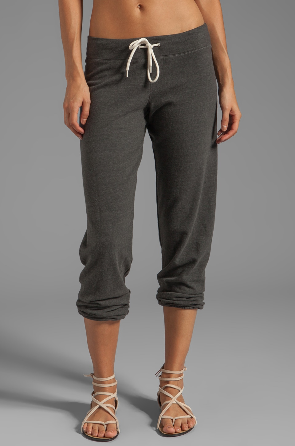 MONROW Vintage Fleece Sweats in Driftwood