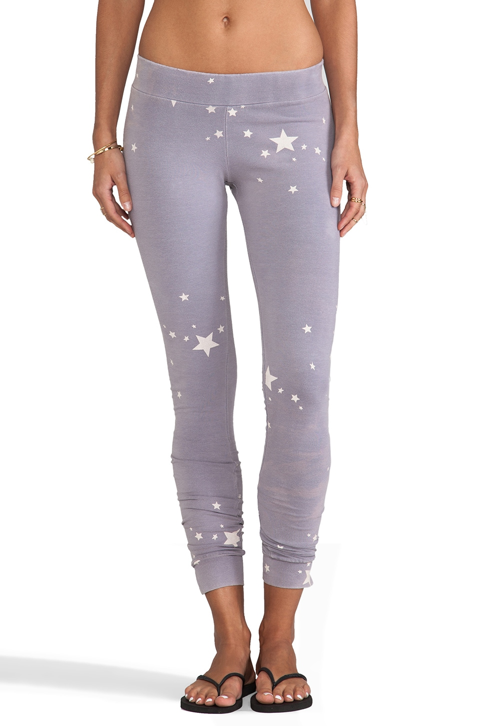 MONROW Stars Leggings in Haze