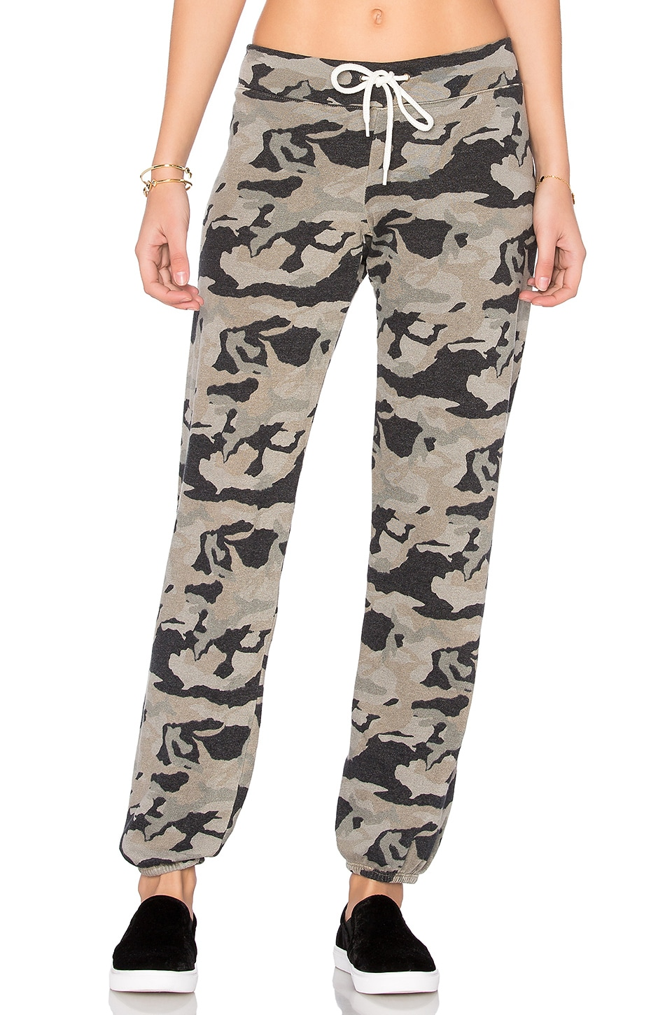 Bone Blue Camo Vintage Sweatpant by MONROW