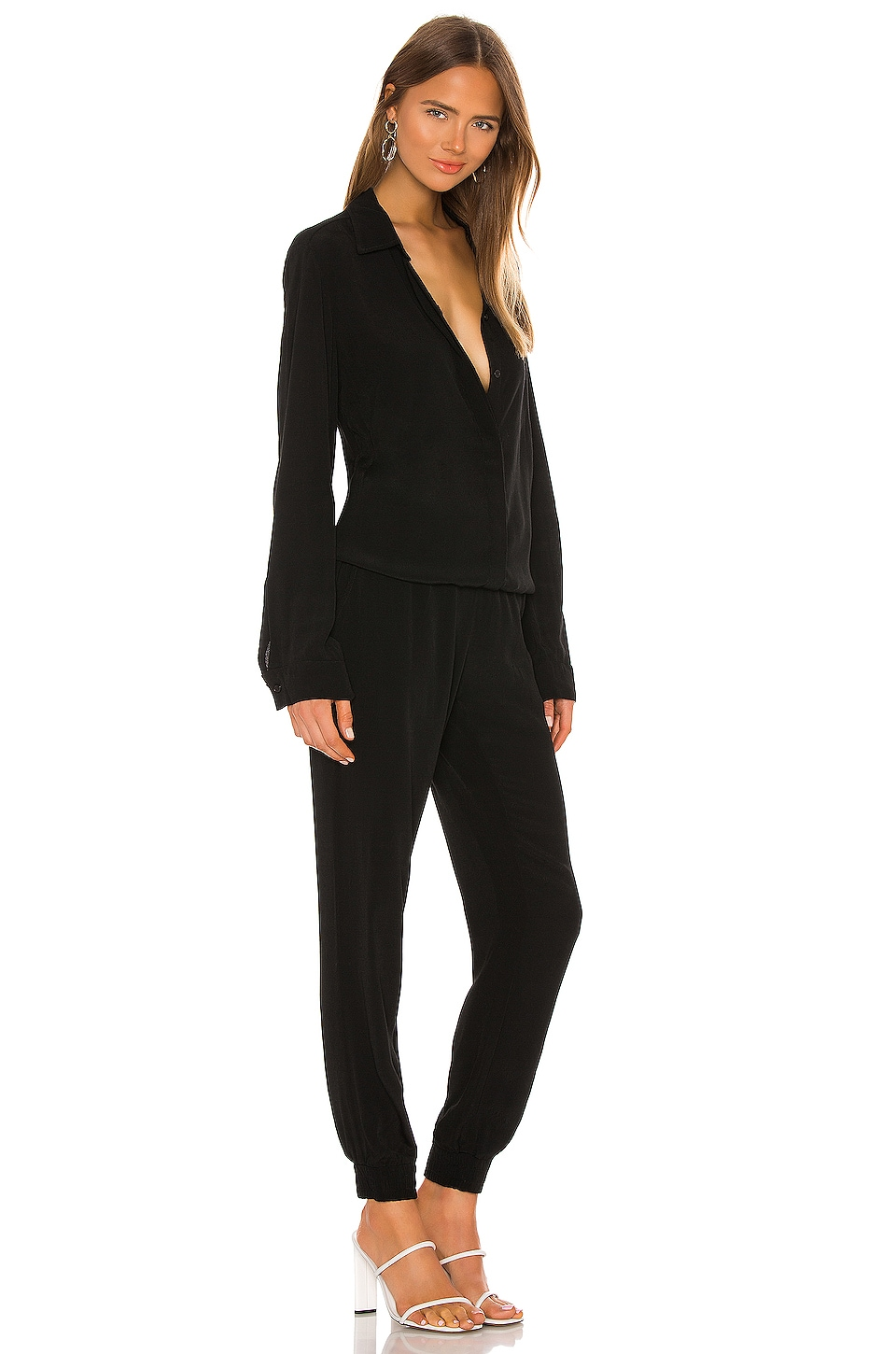 Images of Long Sleeve Jumpsuit - Reikian