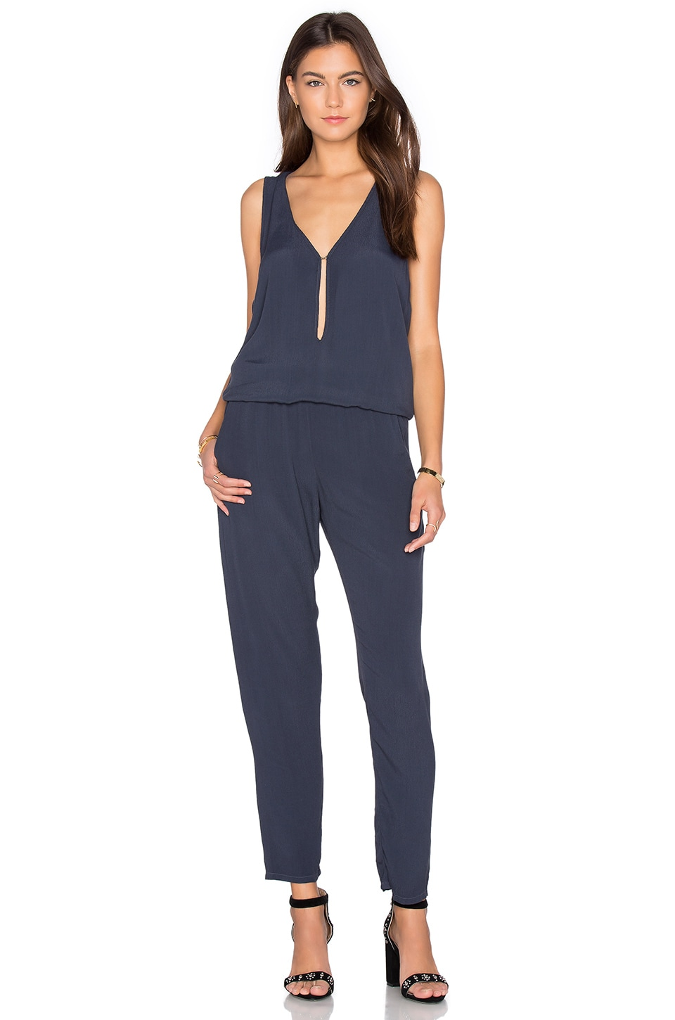 Key Hole Jumpsuit by MONROW
