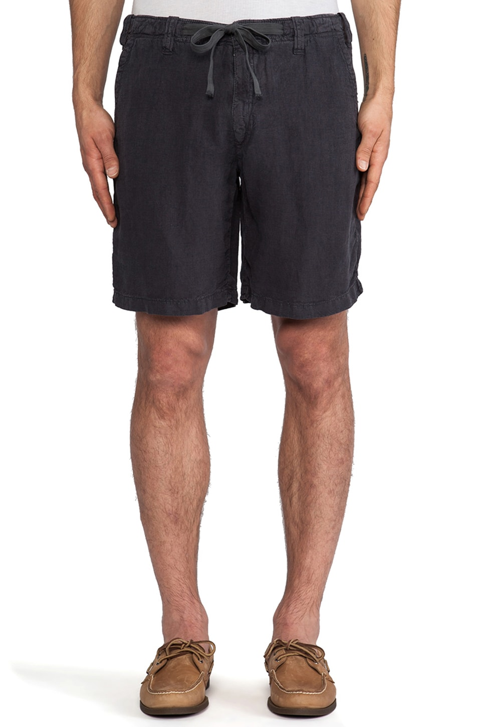 Hartford Drawstring Short in Carbon