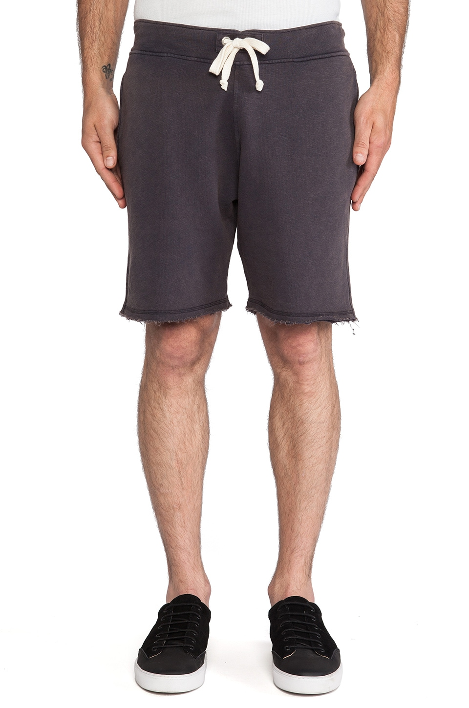 Hartford Bermuda Sweatshorts in Black
