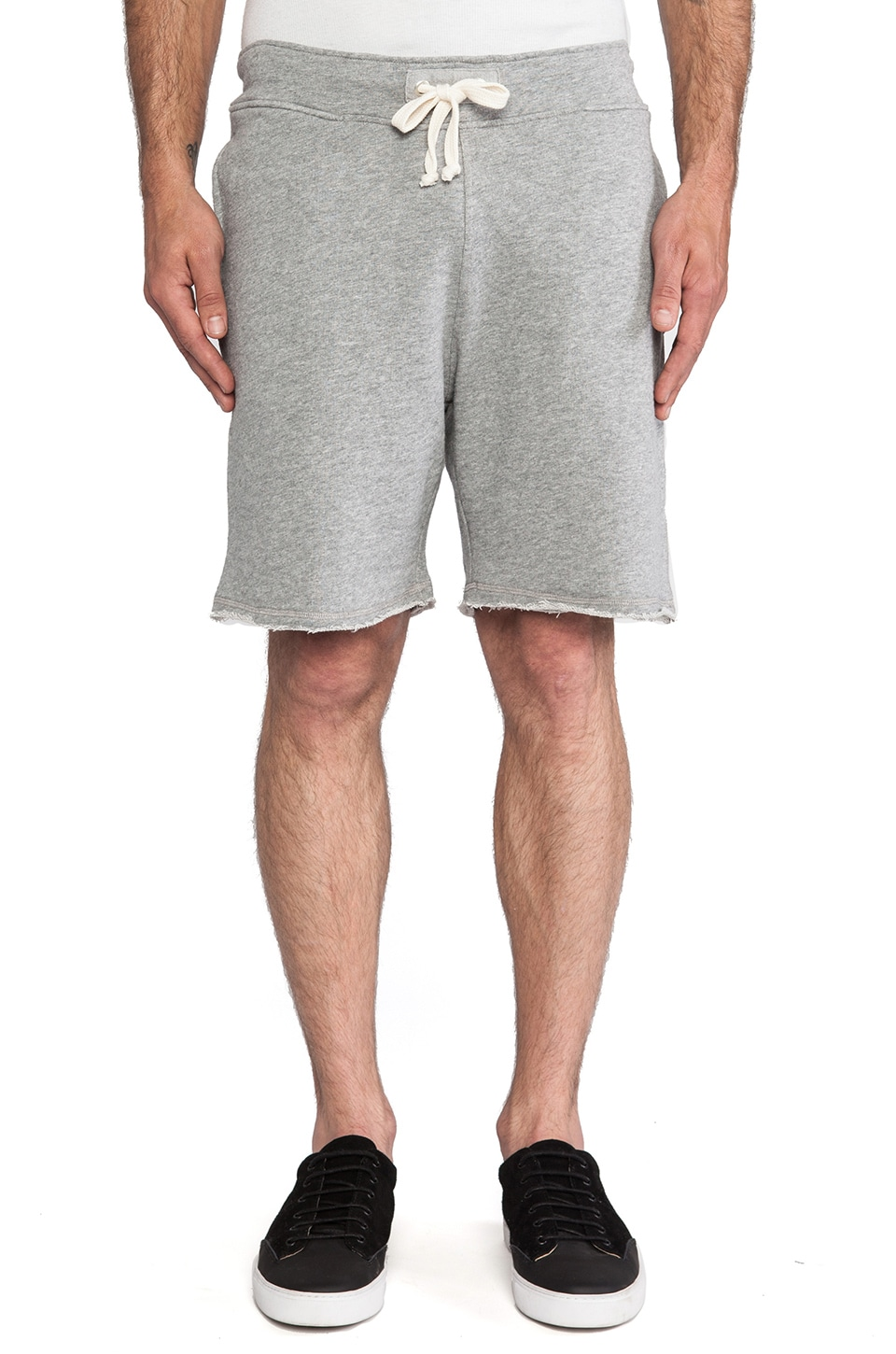 Hartford Bermuda Sweatshorts in Grey