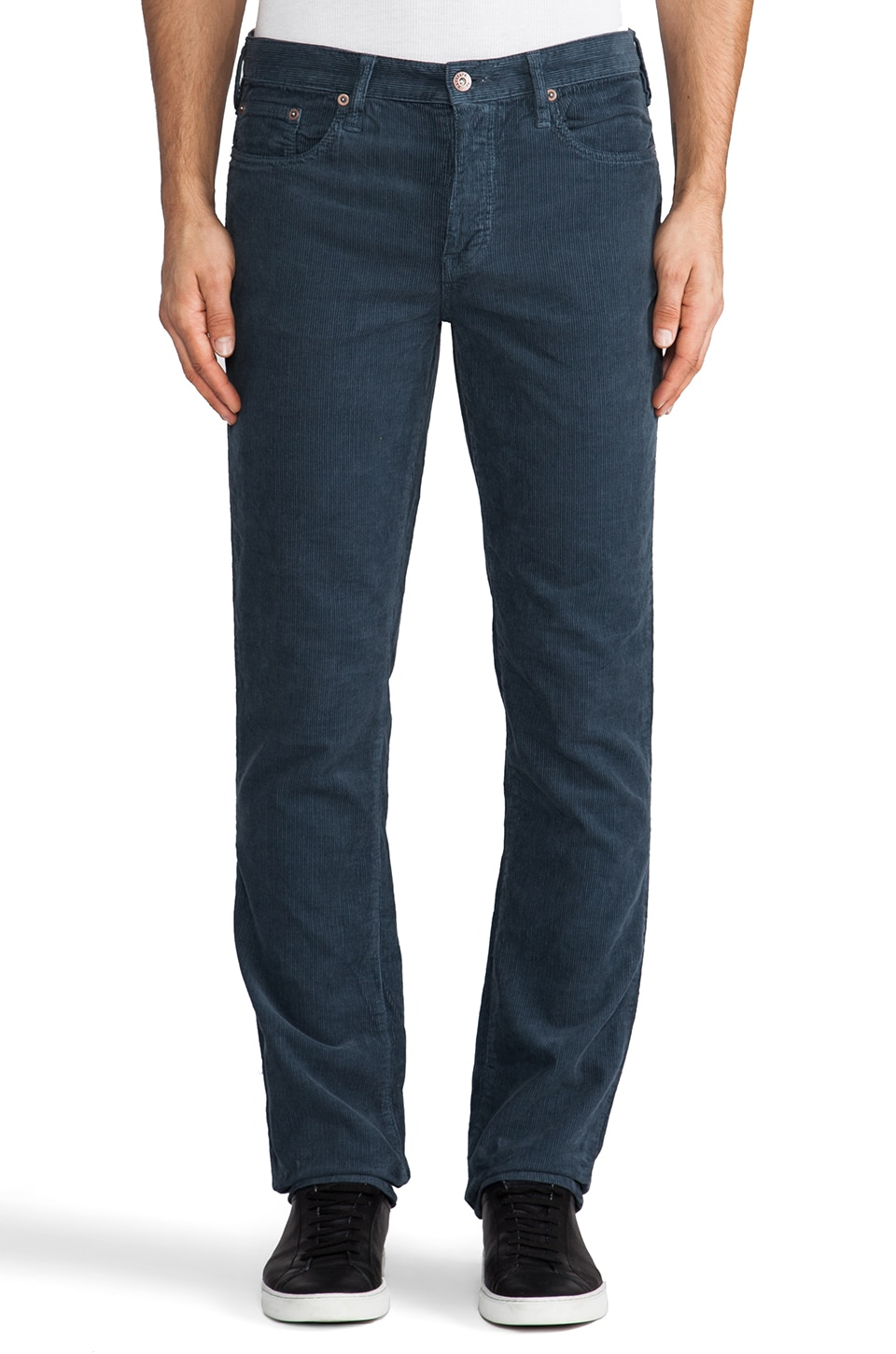 Hartford Corduroy in Slate Blue