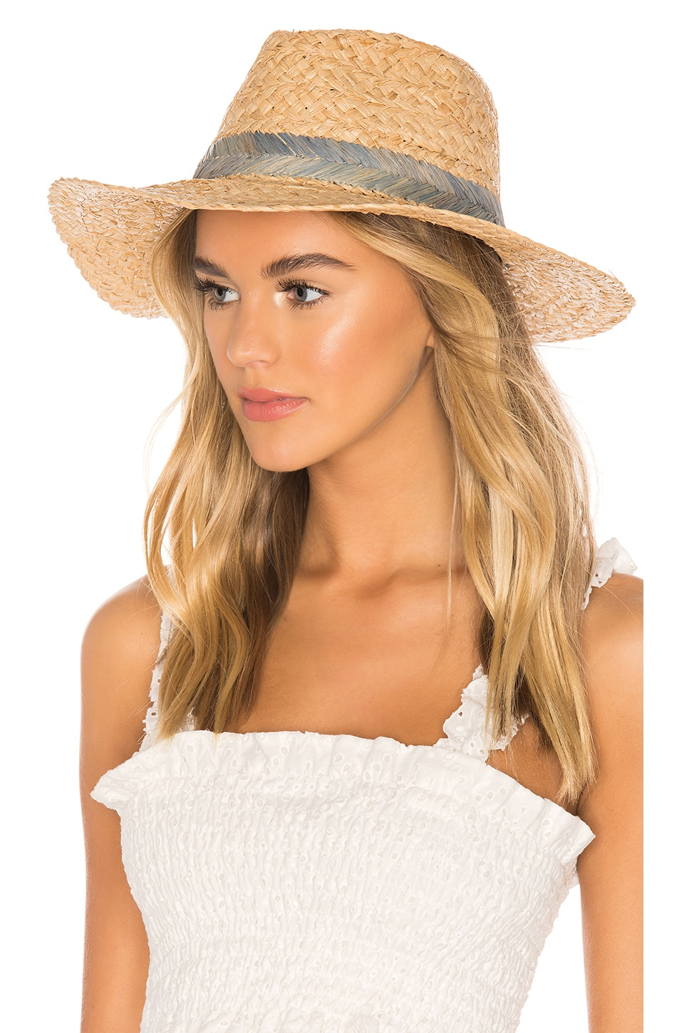 Hat Attack Seashore Rancher Hat in Blue