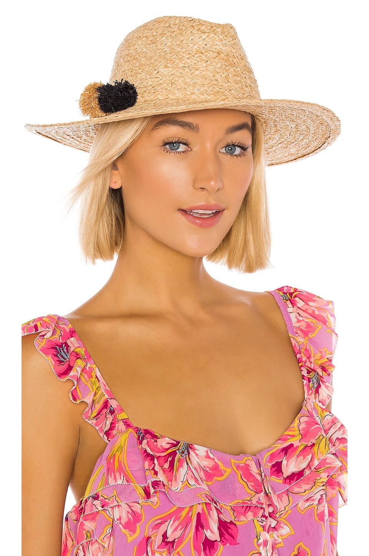 Hat Attack Mini Motto Rancher Hat in Natural