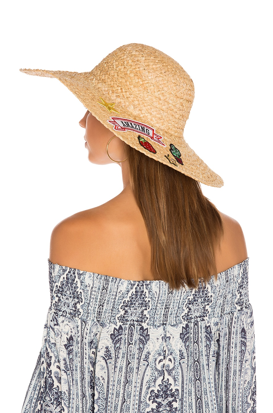 Patch Sunhat by Hat Attack