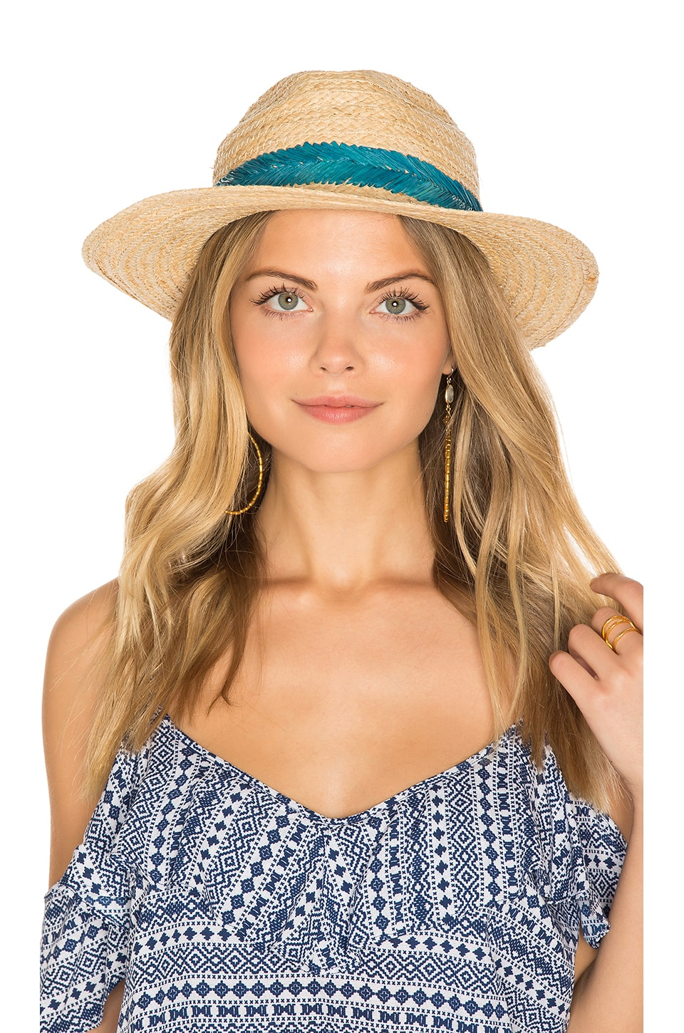 Embroidered Inset Band Hat by Hat Attack