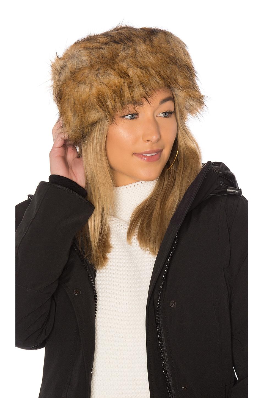 Womens Faux-Fur Hat Hat Attack FJOGD9