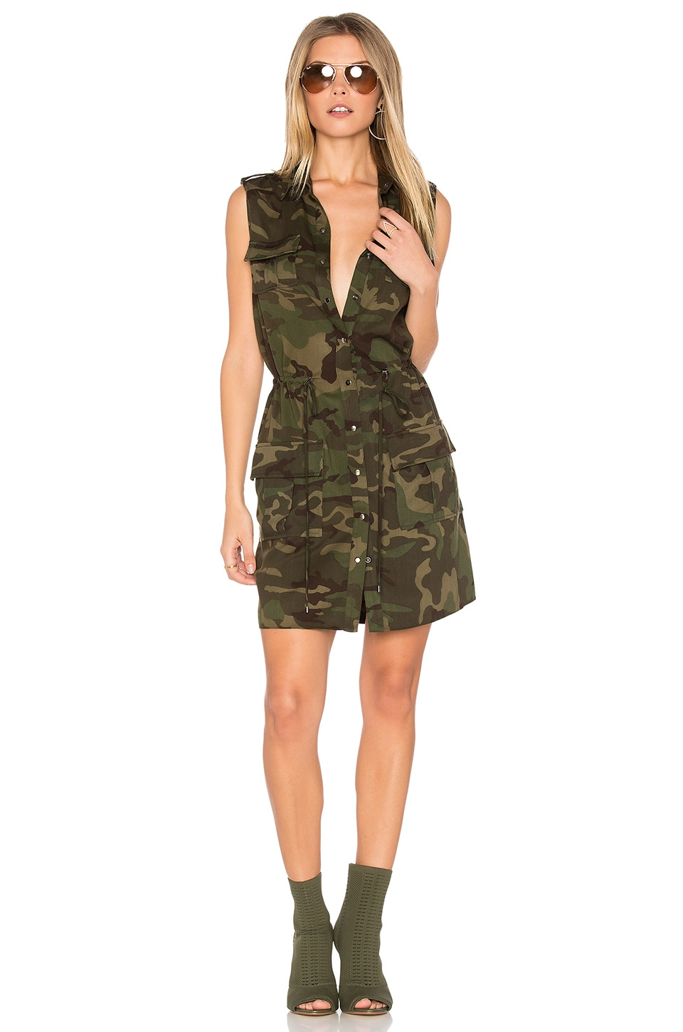The Safari Dress by Haute Hippie