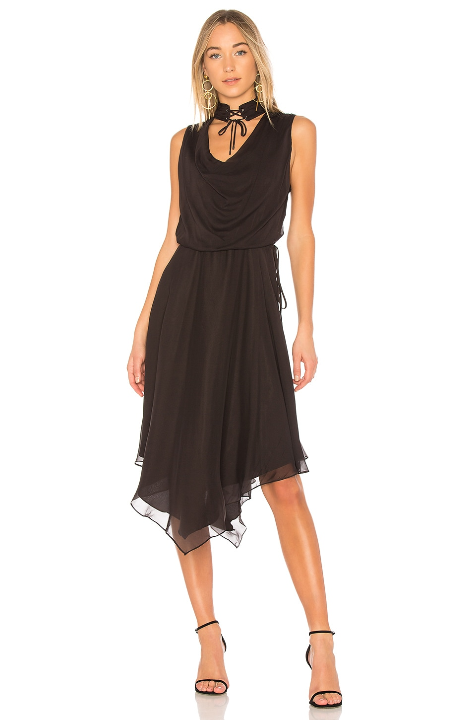 Twilight Midi Dress by Haute Hippie