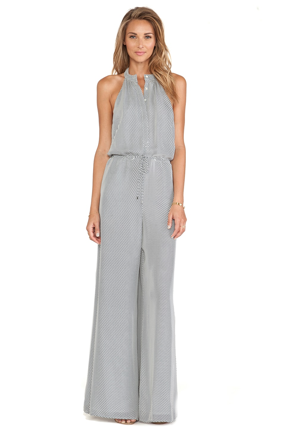 Haute Hippie Lexi Jumpsuit in Midnight and Swam