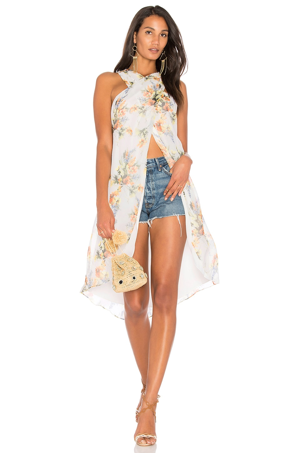 Jane High Low Top by Haute Hippie