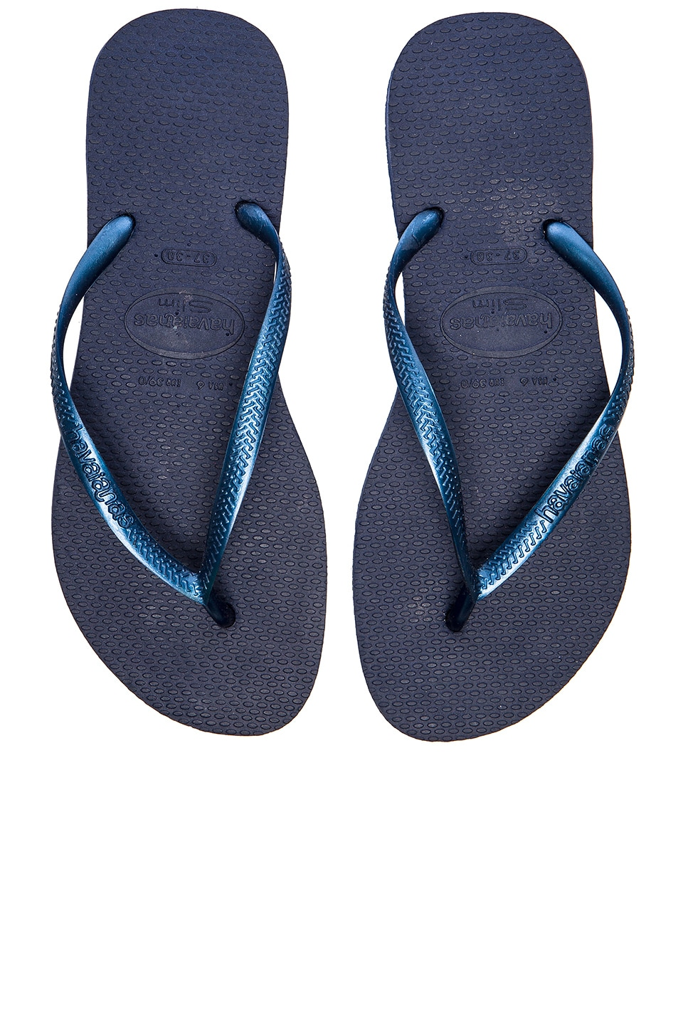 Havaianas Slim Flip Flop in Navy Blue