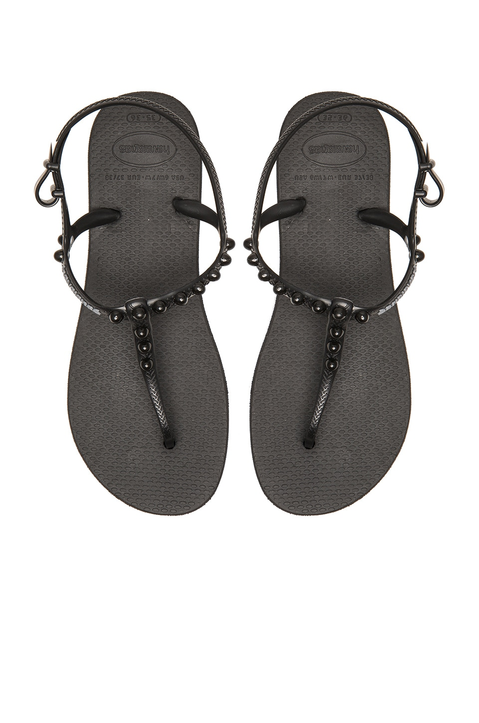 Havaianas Freedom Candy Flip Flop in Black
