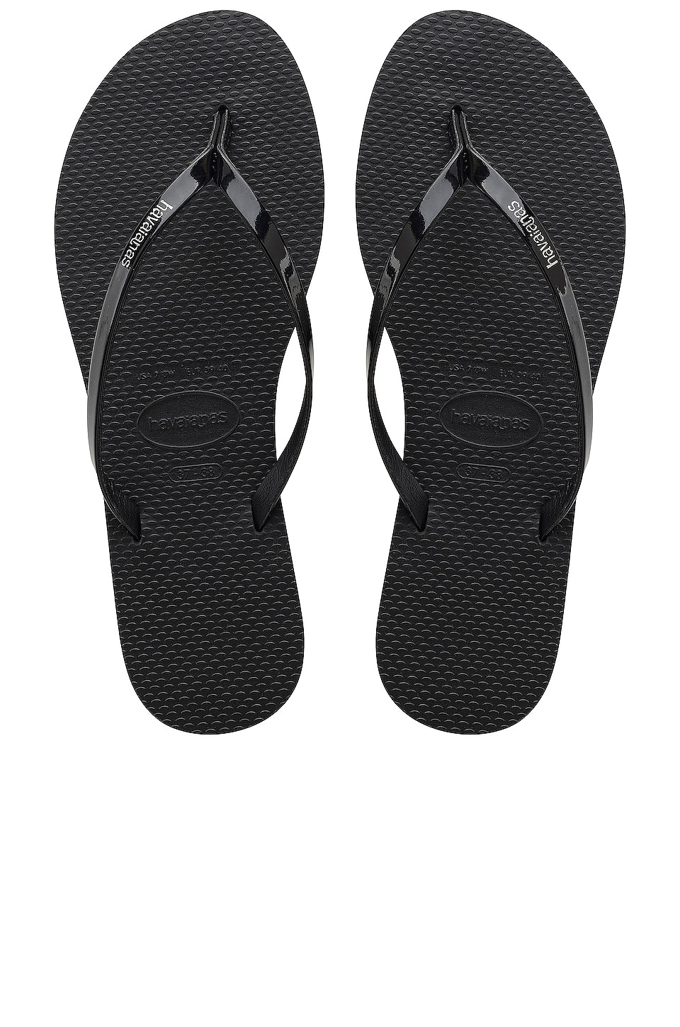 Havaianas You Metallic Sandal in Black