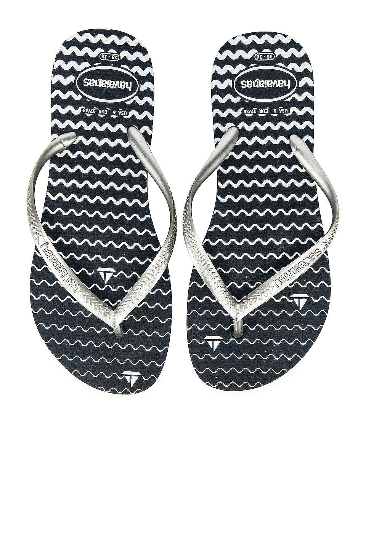 Havaianas Slim Oceano Sandal in Navy Blue