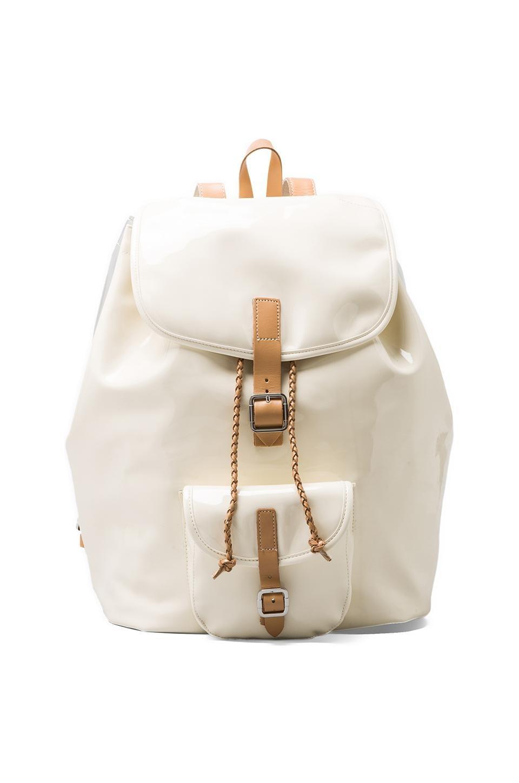 Harper Ave Farnsworth Backpack in Cream & Clear