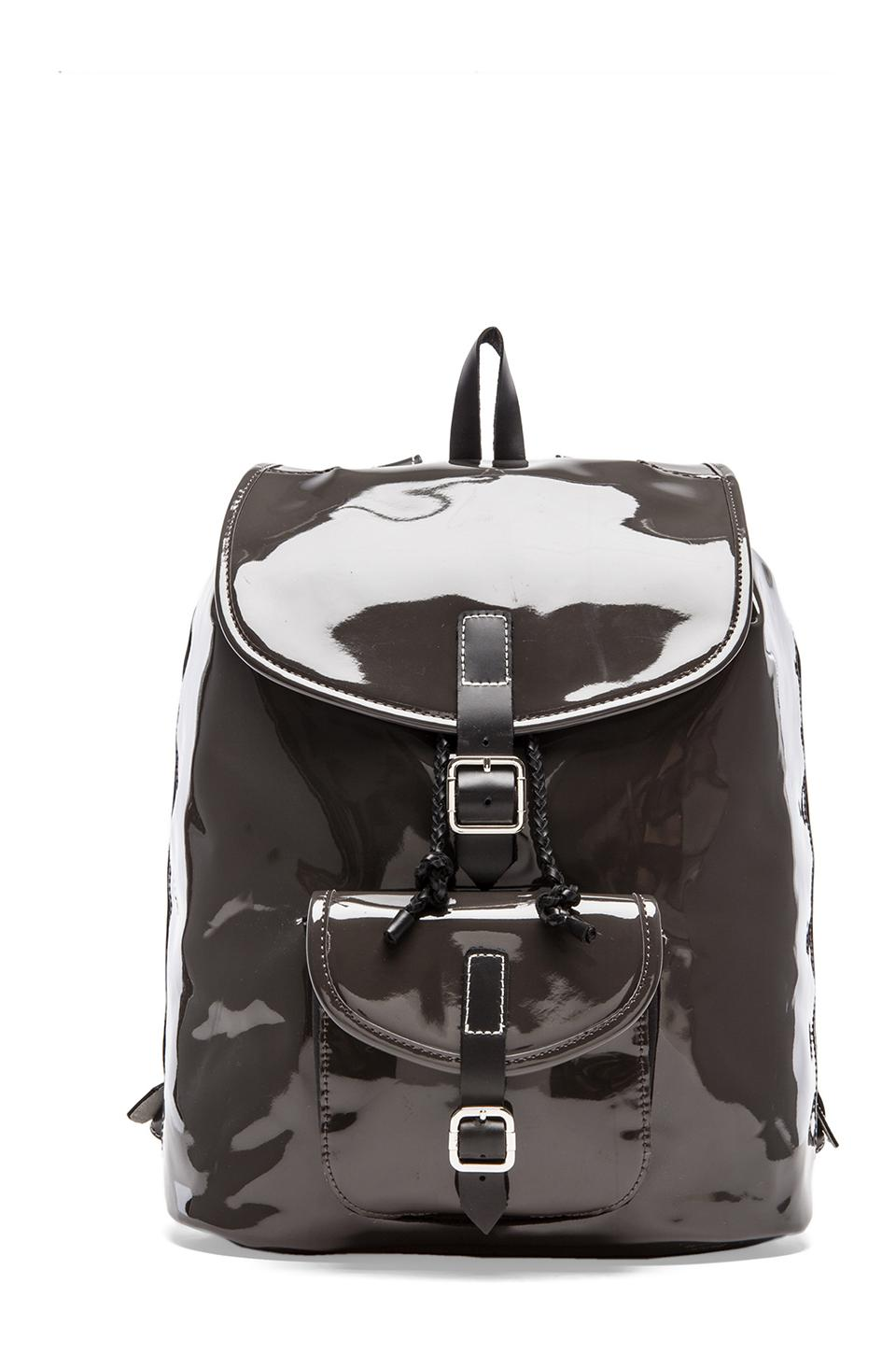Harper Ave Philip Backpack in Slate Patent
