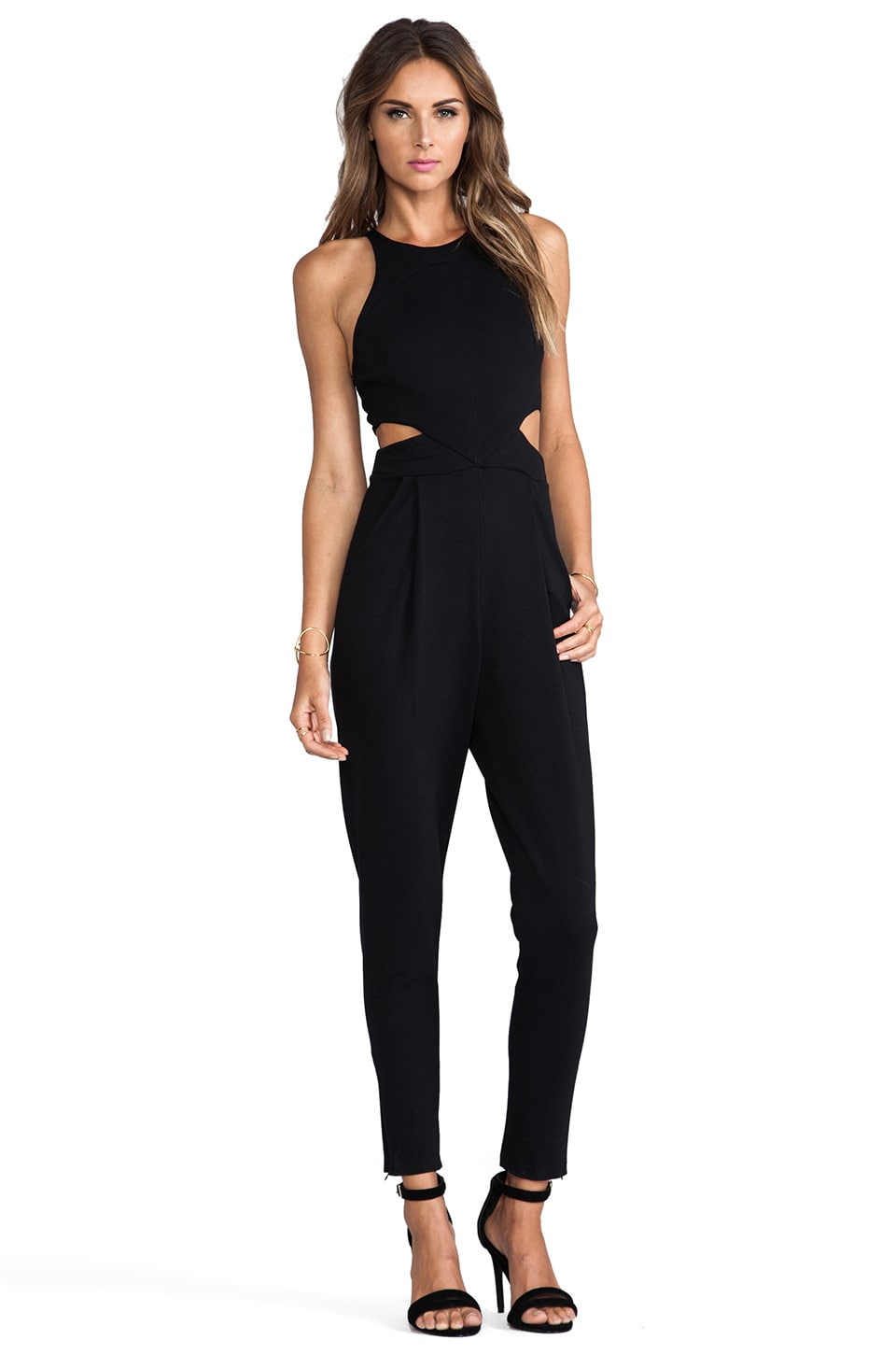 Hunter Bell Katie Jumpsuit in Black