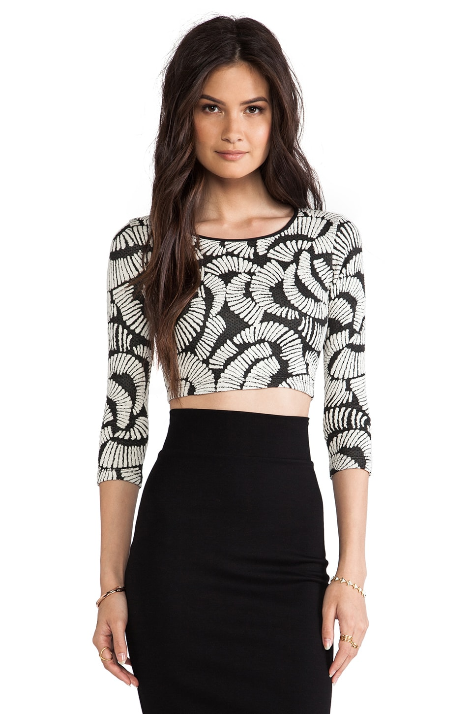 Hunter Bell Kramer Top in Black