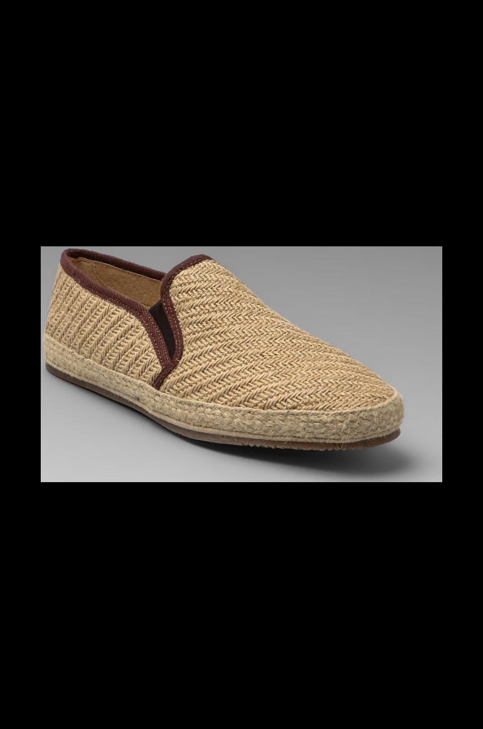 H by Hudson Orca Canvas Slip-On in Natural