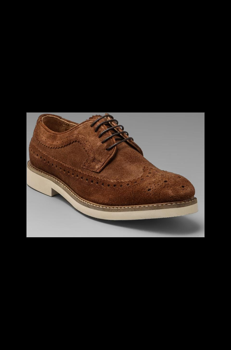 H by Hudson Crawford Sued Oxford in Brown
