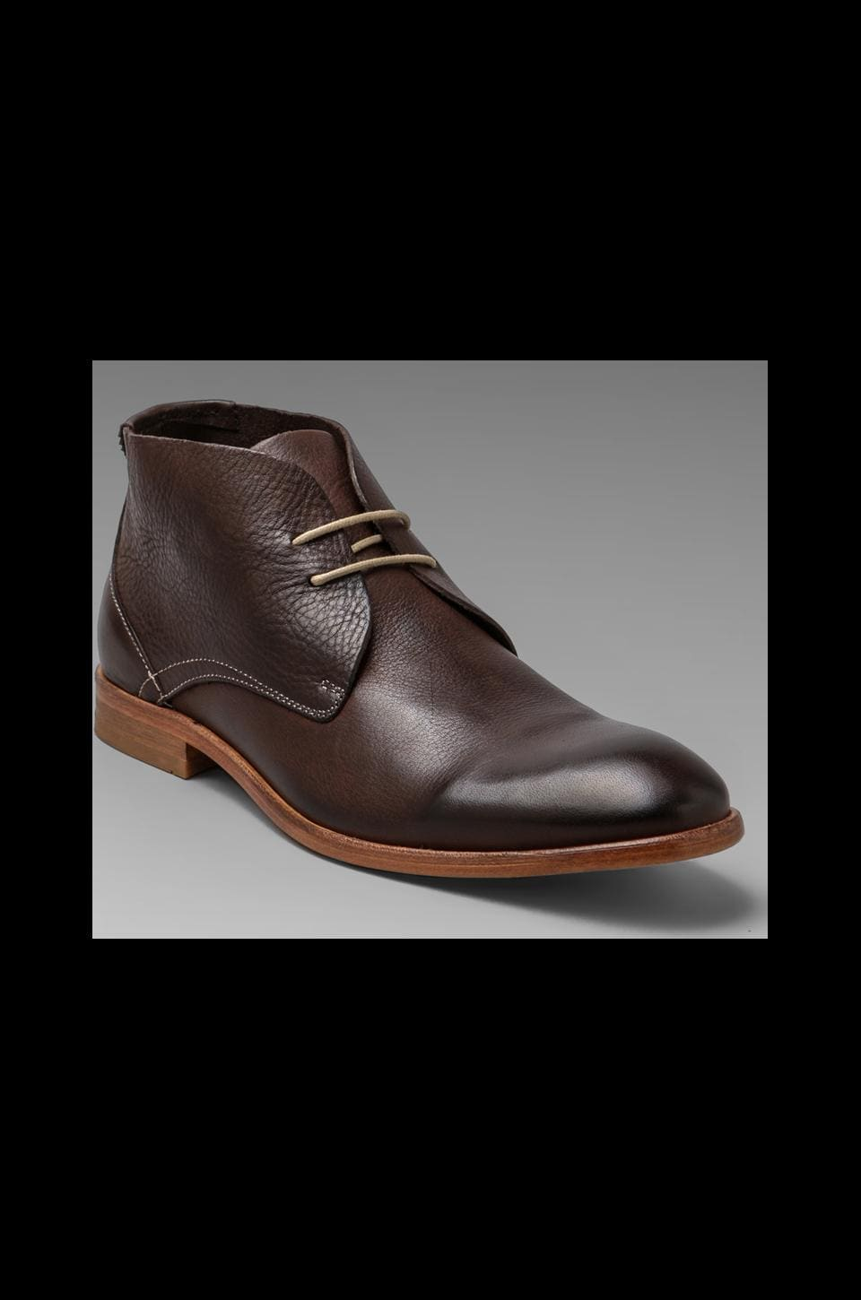H by Hudson Osbourne Leather Chukka in Brown