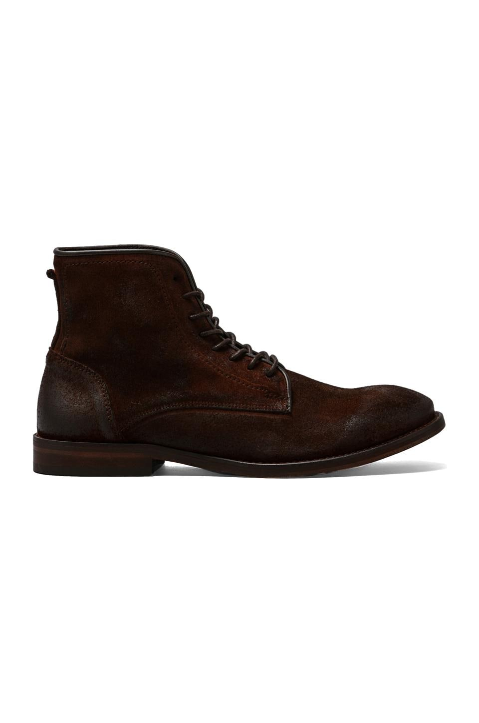 H by Hudson Smyth Boot in Suede Brown