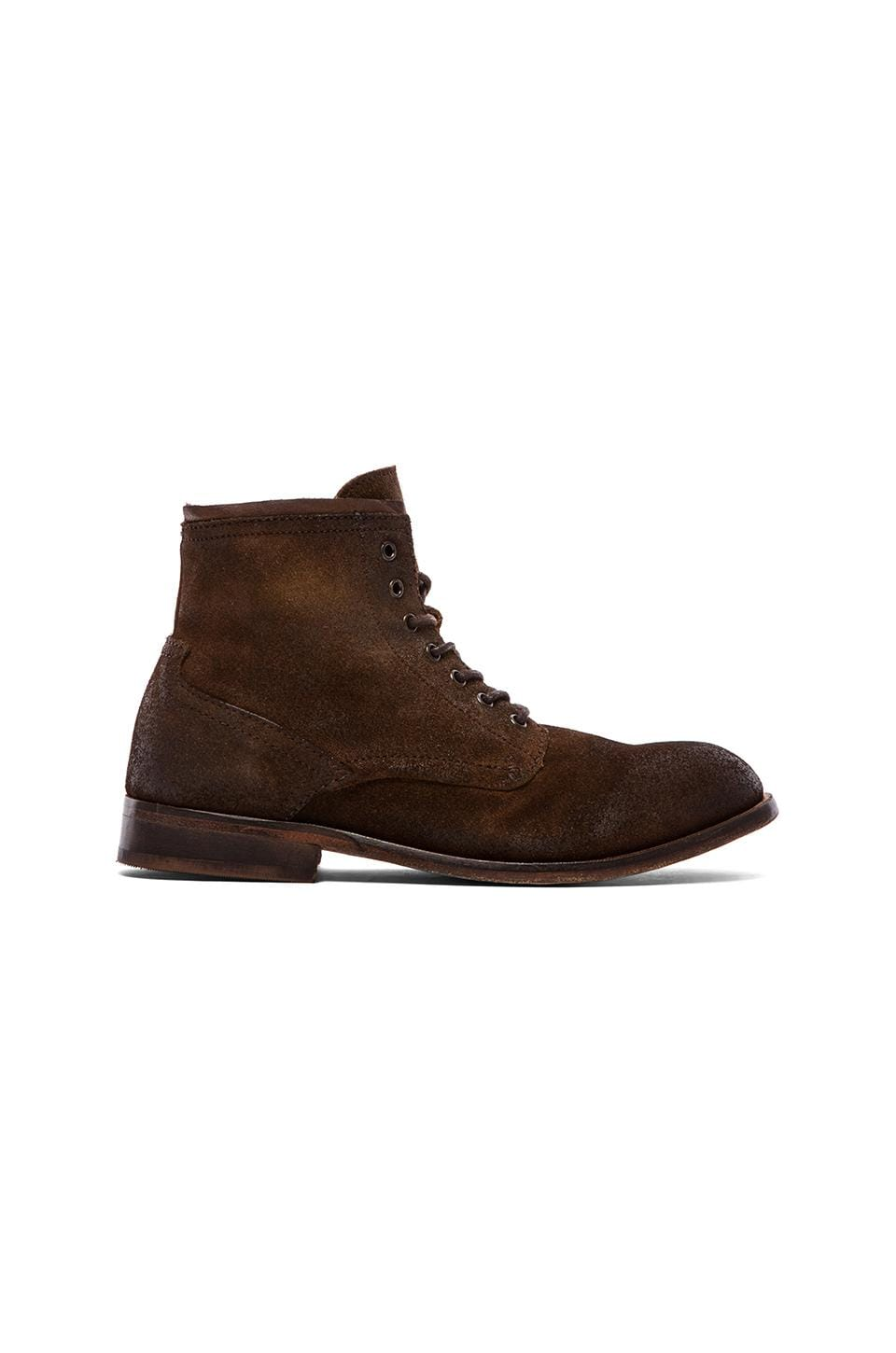 H by Hudson Railton in Brown Suede