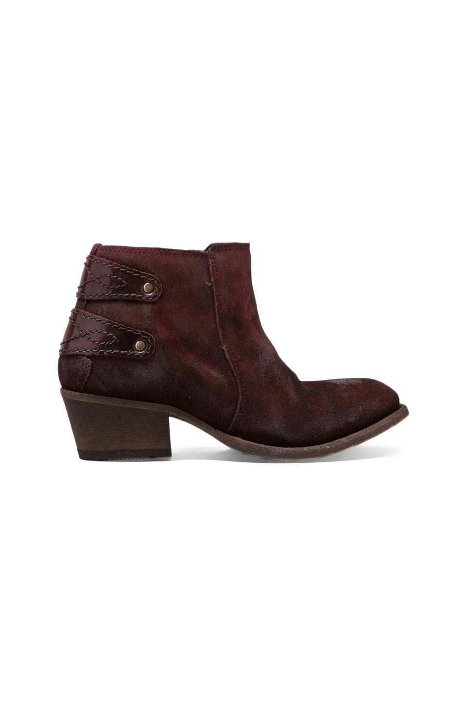 H by Hudson Rosse Boot in Bordo