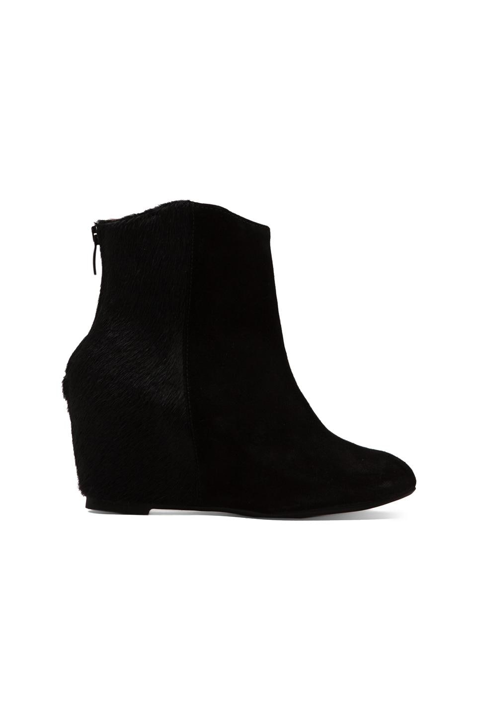 H by Hudson Sefton Bootie in Black Pony