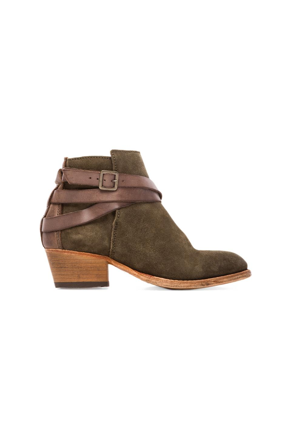 H by Hudson Horigan Bootie in Suede Moss