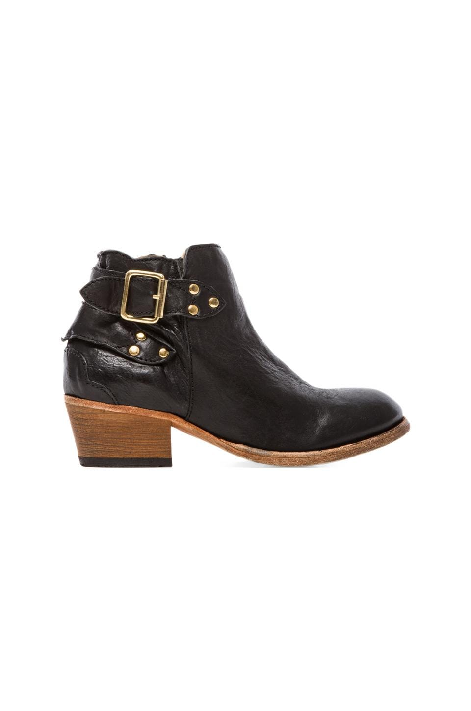 H by Hudson Bora Boot in Calf Black