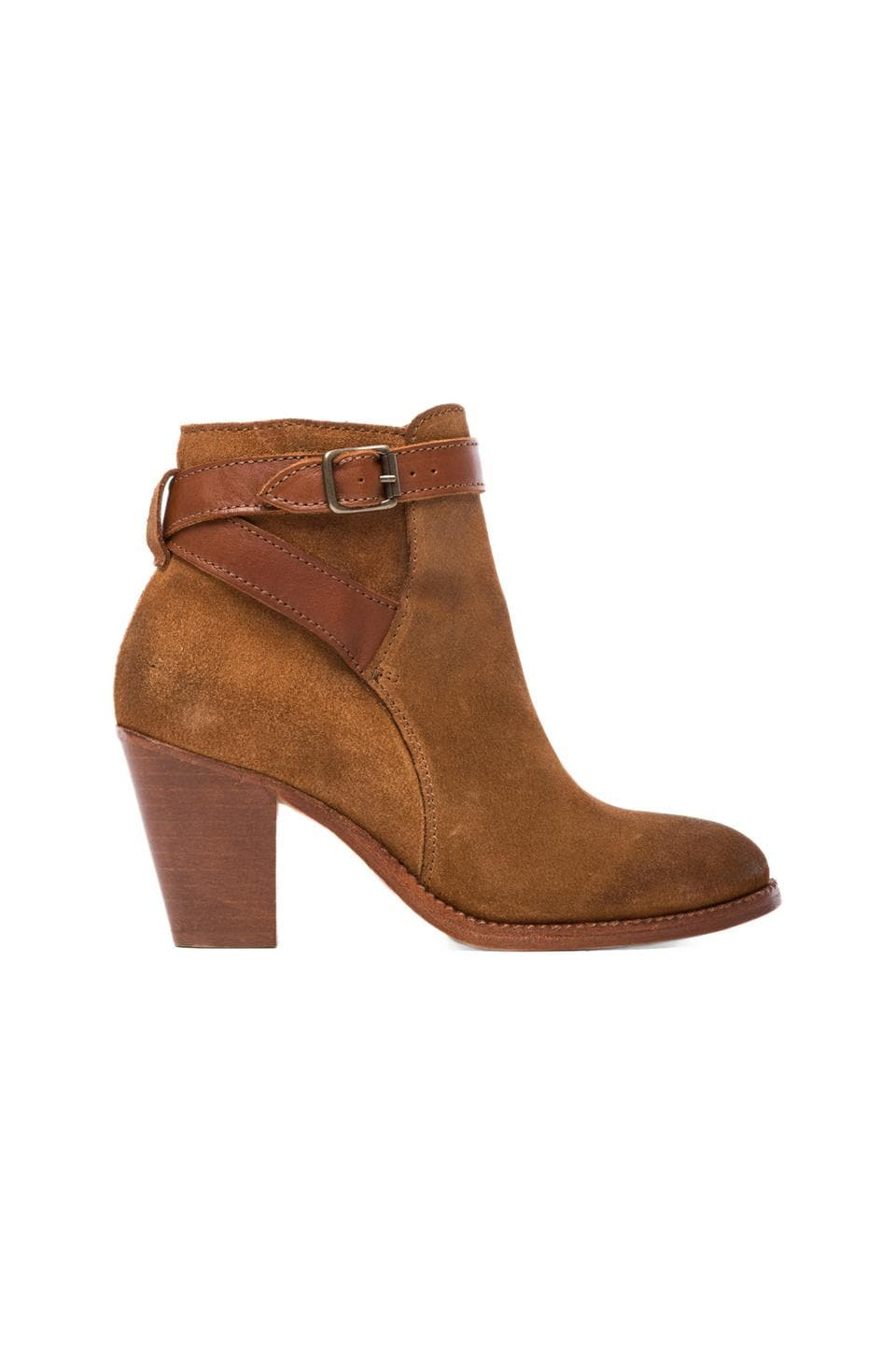 H by Hudson Lewknow Boot in Suede Tan