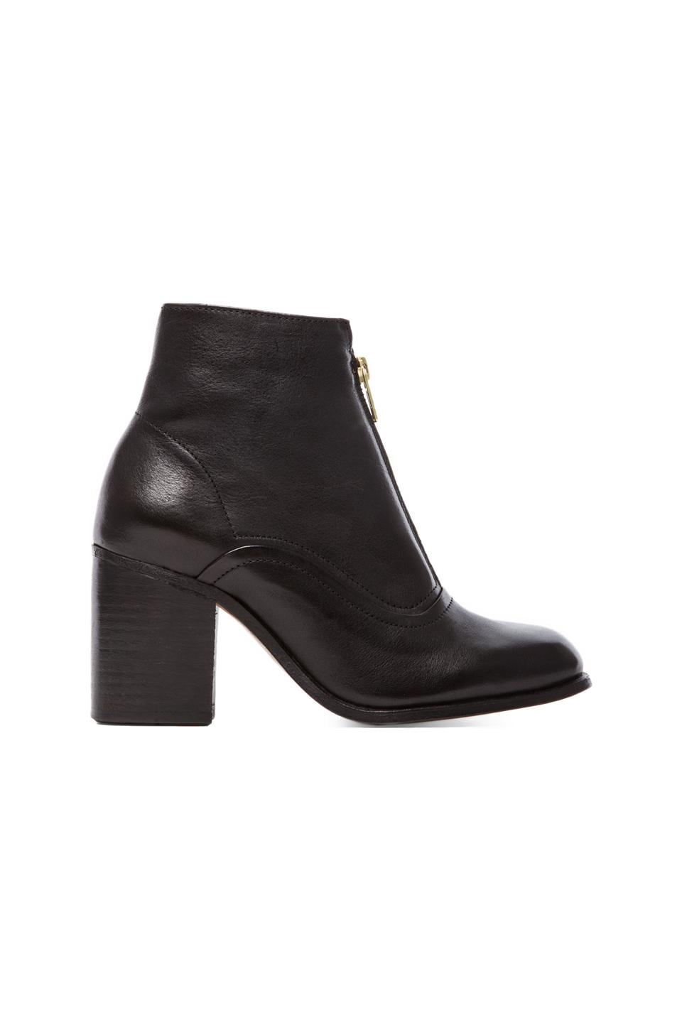 H by Hudson Piper Bootie in Calf Black