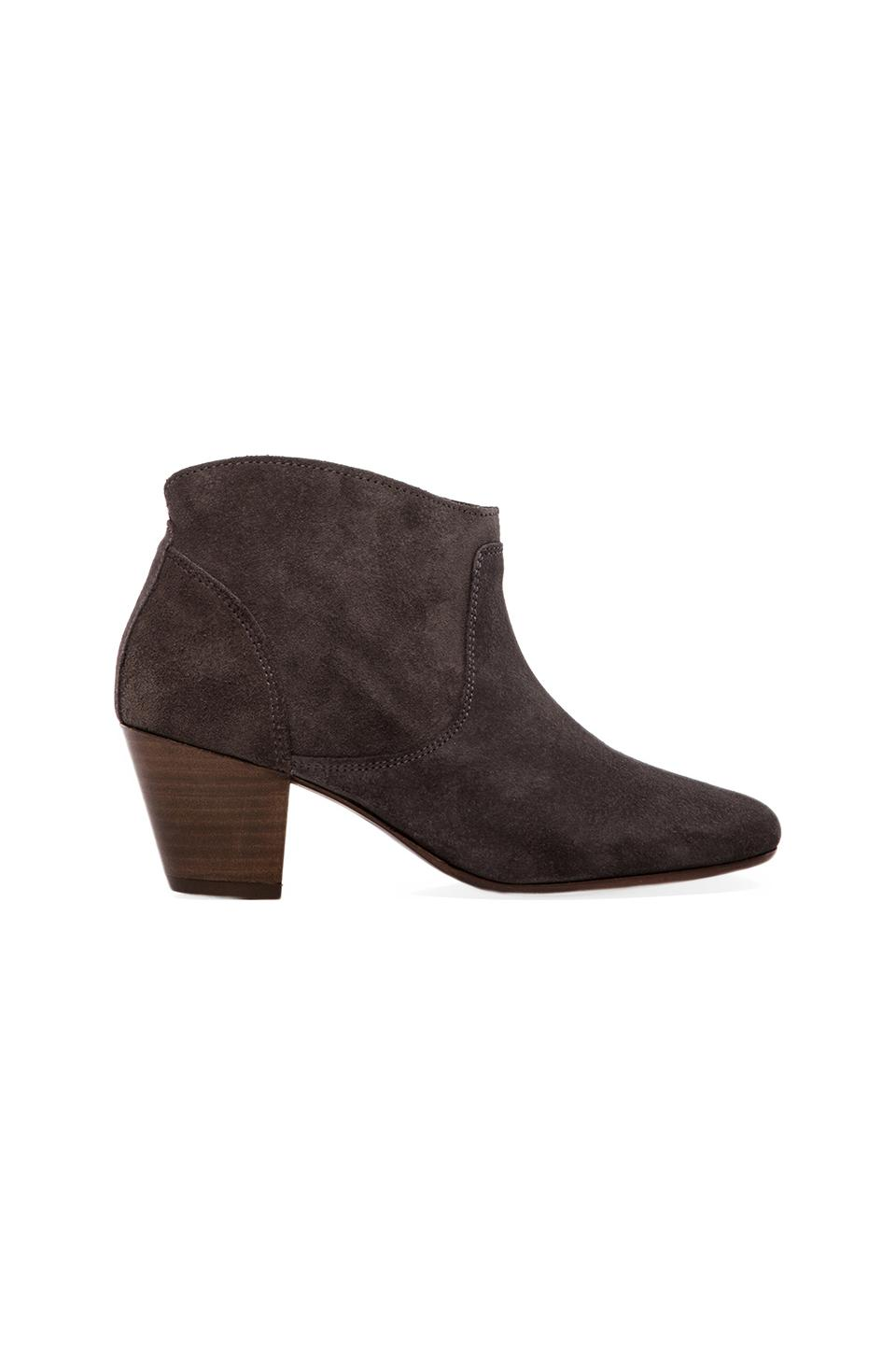 H by Hudson Mirar Bootie in Suede Grey