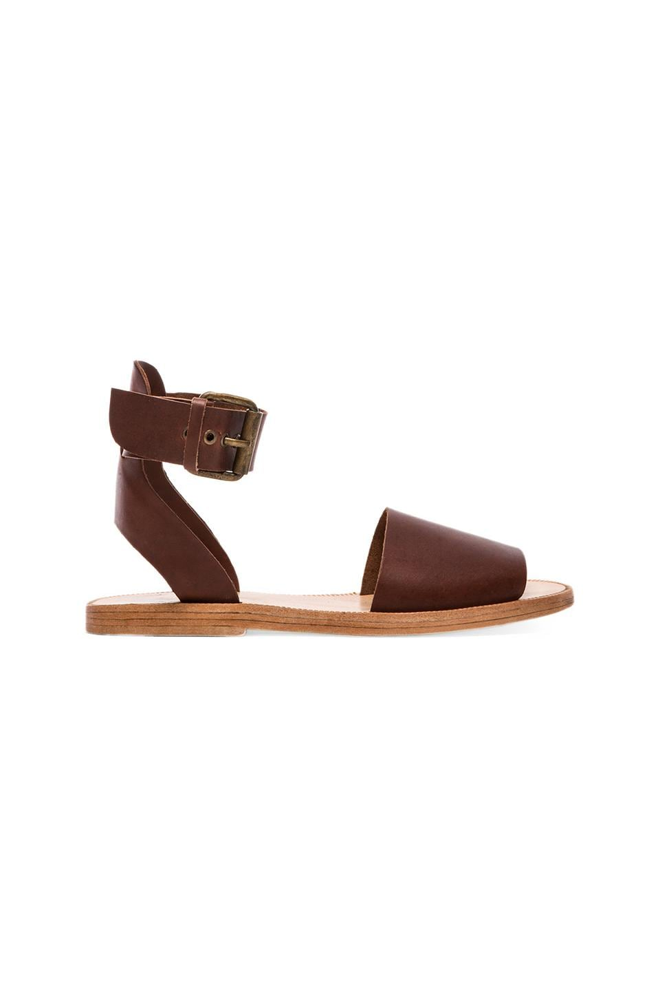 H by Hudson Sollar Sandal in Calf Tan