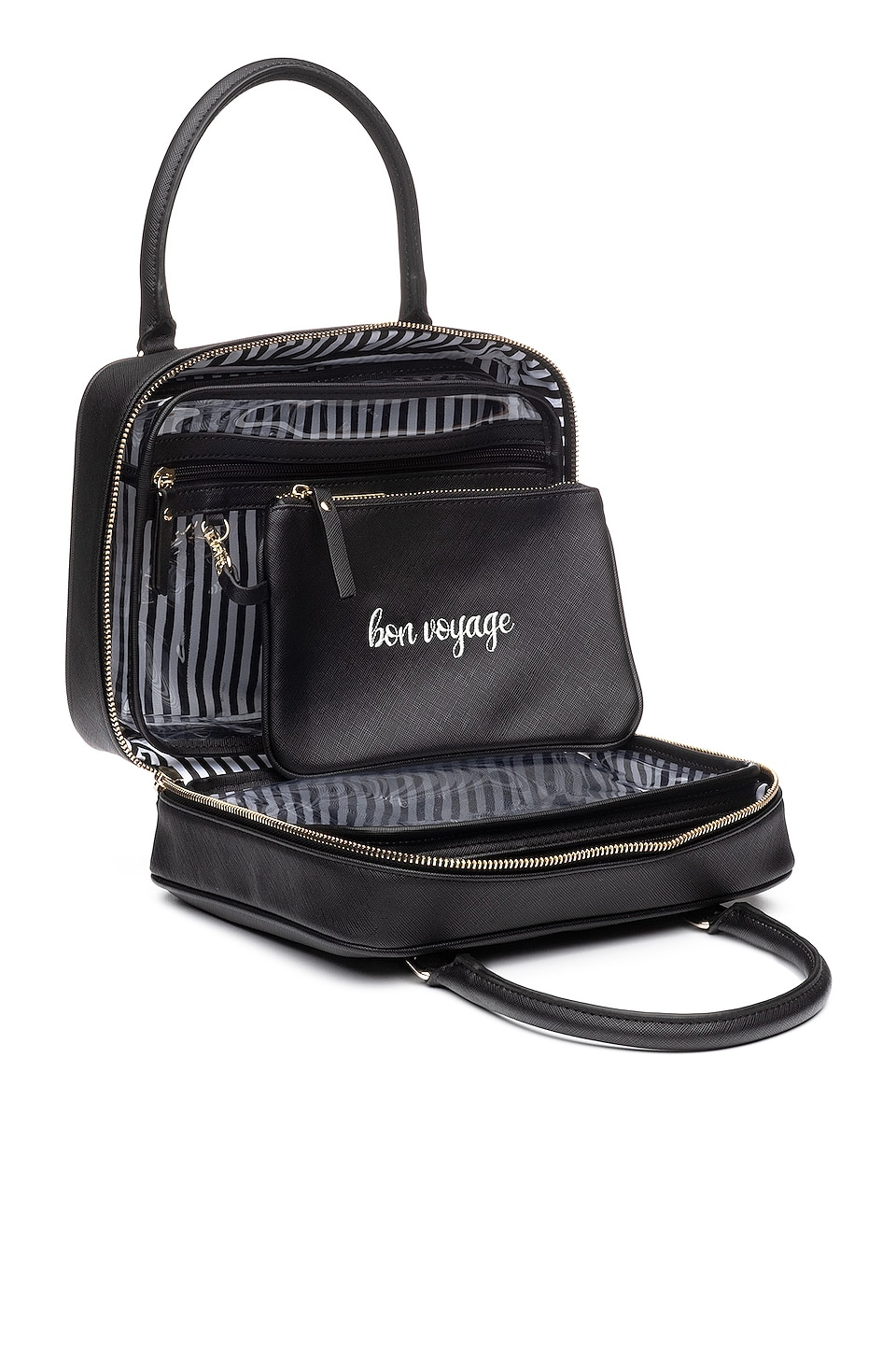 Hudson + Bleecker Preto Voyager Toiletry Bag in Black