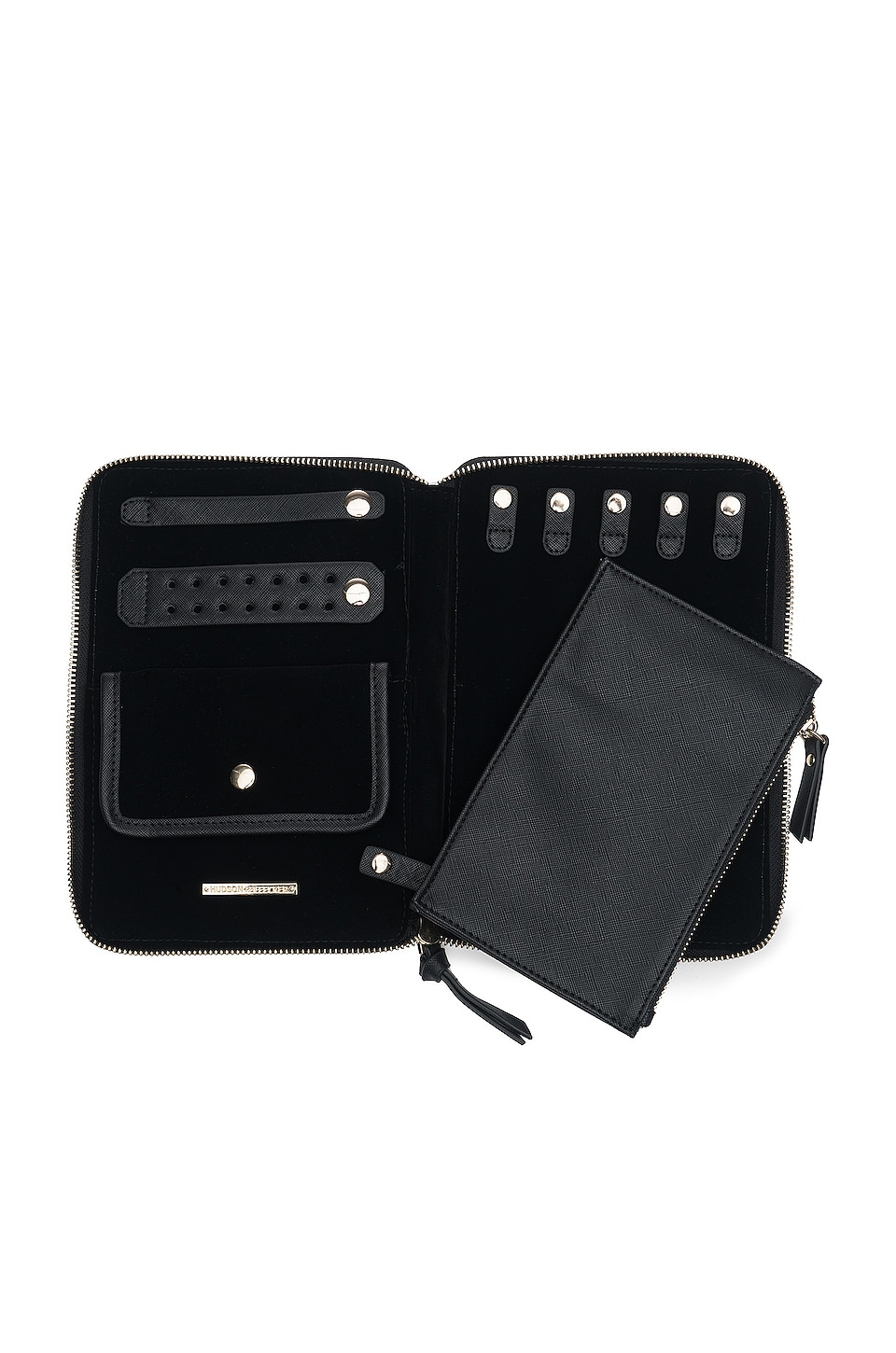 Hudson + Bleecker Preto Bijoux Jewelry Folio in Black